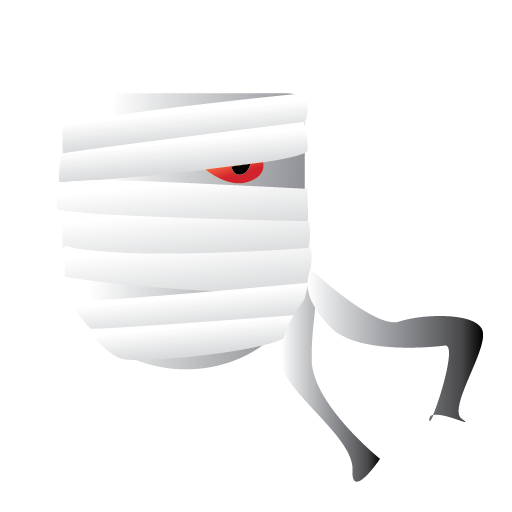 Halloween Maan.Bandage Halloween Man Scary Icon