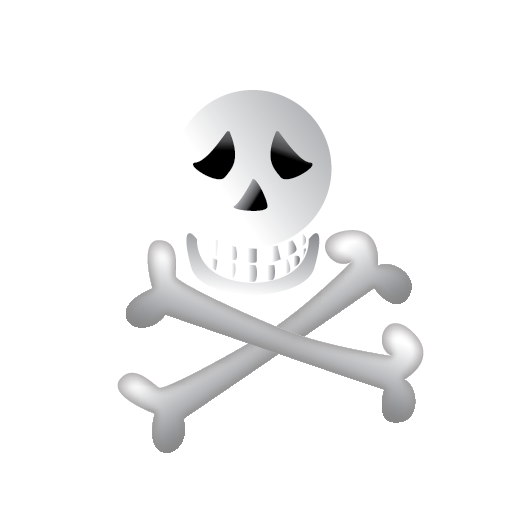 bone, halloween, scary icon