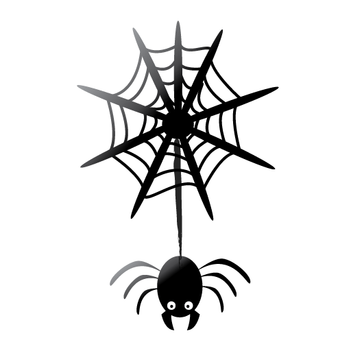 halloween, scary, spider icon