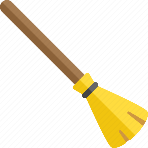 broom, broomstick, fly, flying, halloween, sorcery, witch icon