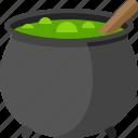 halloween, pot, potion, sorcery, witch, cauldron