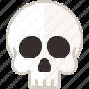 bone, halloween, head, human, skull