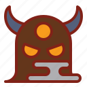 giant, halloween, monster icon