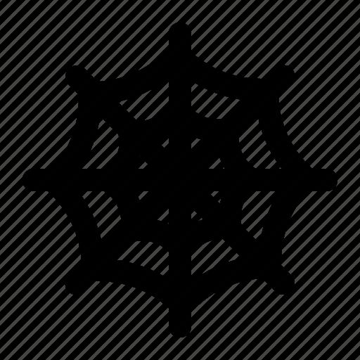 cobweb, halloween, net, spider, web icon