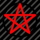 halloween, hexagon, pentagon, portal, witch icon