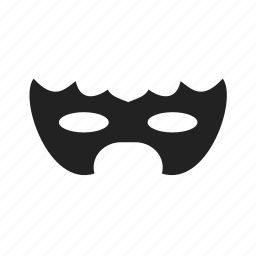 cinema, entertainment, halloween, mask icon