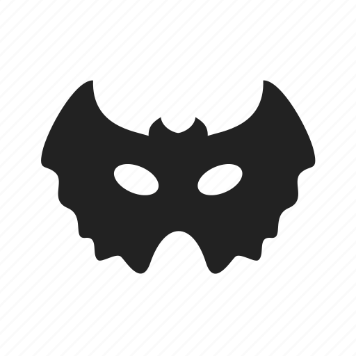 bat, cinema, danger, dark, entertainment, evil, flight, halloween, mask, scary icon