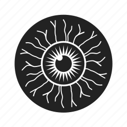 eye, eyeball, halloween, retina, see, view icon