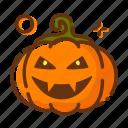 halloween, emoji, lantern, pumpkin