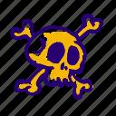 bones, halloween, horror, scary, skeleton, skull, spooky