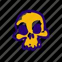 bones, creepy, halloween, scary, skeleton, skull, spooky