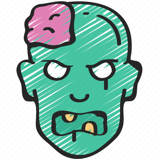 dead, evil, halloween, male, zombie icon