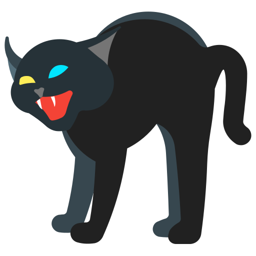 Cat, holidays, scary, halloween, animal icon