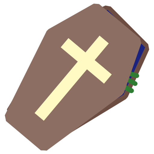 coffin, halloween, holidays, insurgent, zombi icon