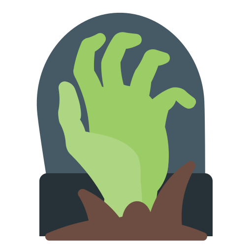 Hand, holidays, grave, insurgent, zombi icon - Free download