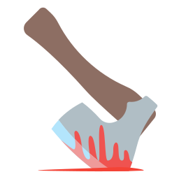 axe, blood, halloween, headsplitter, holidays icon