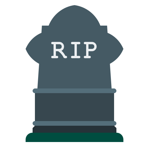 grave, gravestone, halloween, headstone, rip icon