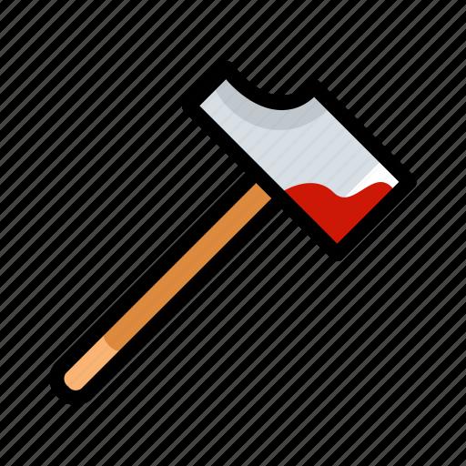 halloween, hammer, horror, scary, spooky icon