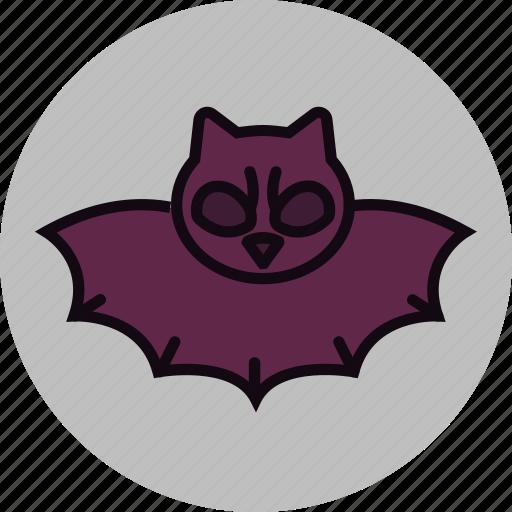 bad, bat, creepy, dark, darkness, evil, halloween icon