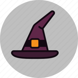 halloween, hat, spell, witch, witchcraft, wizard, wizardry icon