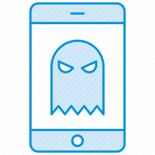avatar, character, halloween, mobile, mobile shape, skeleton, smartphone icon
