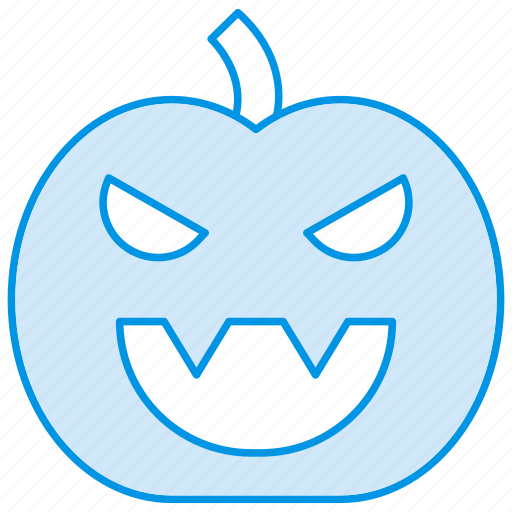face, halloween, pumpkin, scary icon icon
