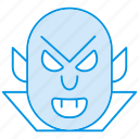 dracula, evil, ghost, halloween, night, spooky icon, wampire icon icon