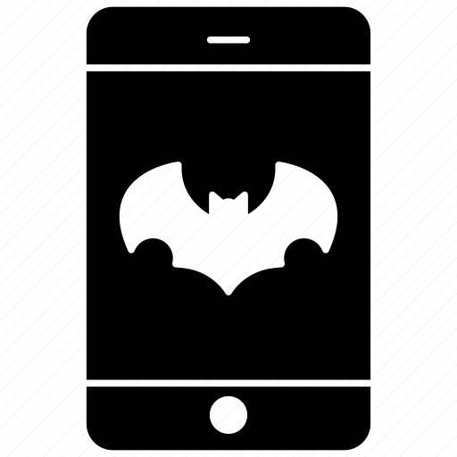 batman, mobile, mobile shape, smartphone icon