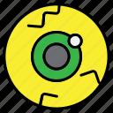 eye, ghost, halloween, scary eye, spooky icon