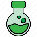 chemical, danger, halloween, poison icon
