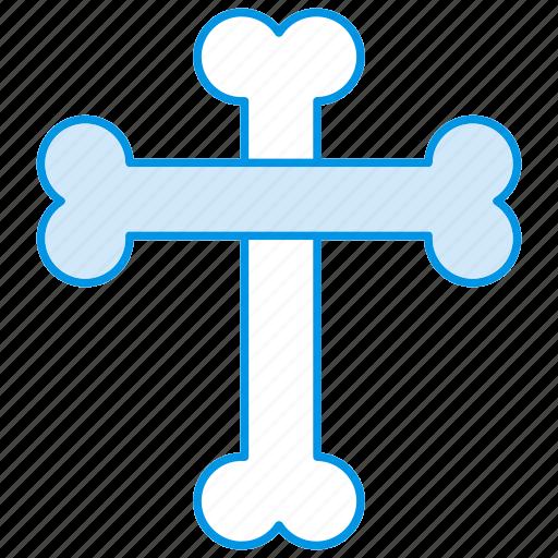 bones, face, halloween, holloween, sad, user icon icon