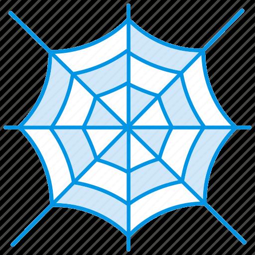 bat, cobweb, halloween, haloween, net, network, web icon icon