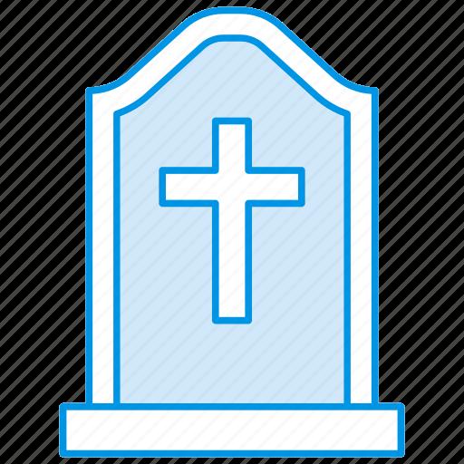 chris, funeral, gravestone, graveyard, halloween, rip, tombstone icon icon