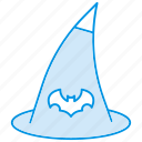 cap, halloween, hat, magic, witch, wizard icon icon