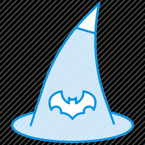 cap, halloween, hat, magic, witch, wizard icon icon