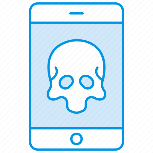 android, ghost, iphone, mobile, spooky icon icon