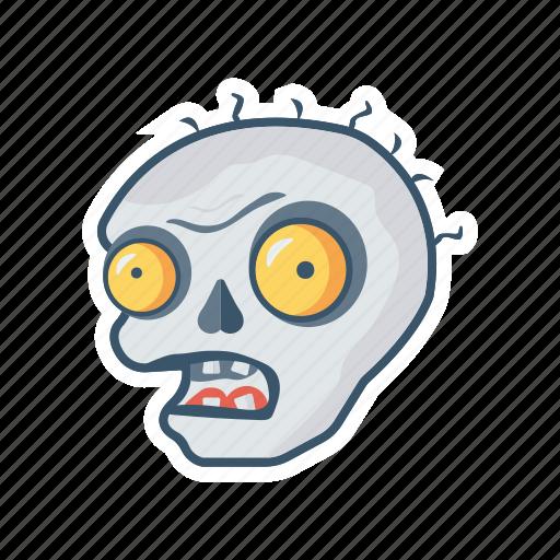 clown, creepy, halloween, monster icon