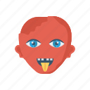 devil, halloween, vampire, zombie icon