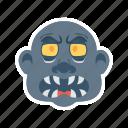 dracula, halloween, vampire, zombie icon