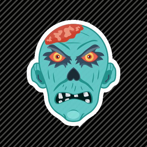clown, halloween, monster, zombie icon