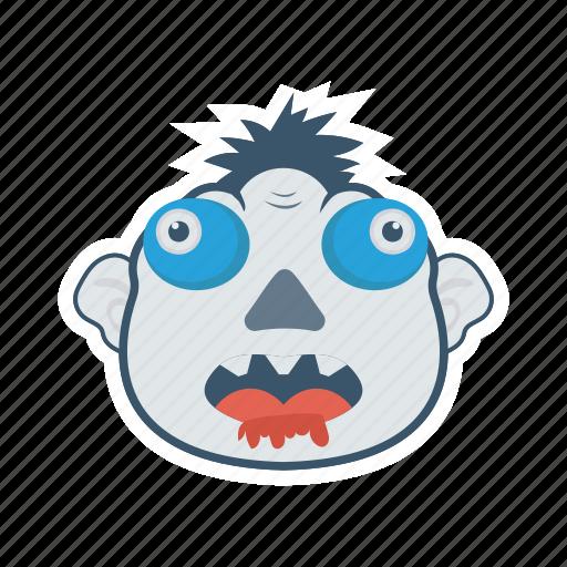 creepy, ghost, monster, zombie icon
