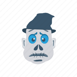monster, mummy, scary, spooky icon