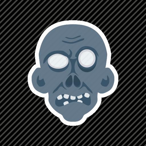 clown, devil, skull, zombie icon