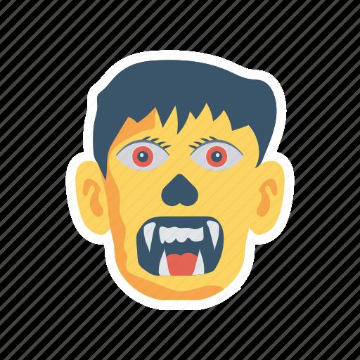 ghost, halloween, skull, spooky icon
