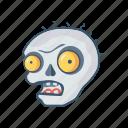 clown, creepy, halloween, monster