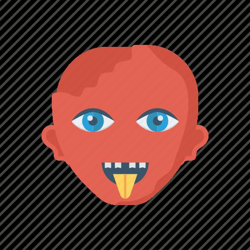devil, halloween, vampire, zombie icon
