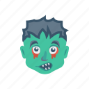 ghost, halloween, scary, zombie icon