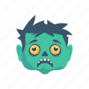 ghost, scary, spooky, zombie icon