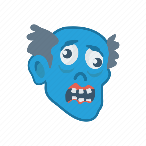 clown, ghost, halloween, scary icon