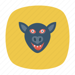 clown, creepy, halloween, spooky icon
